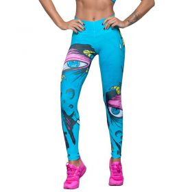 Дамски Клин EX FIT Legging Blue Alien