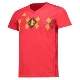 Belgium Home Shirt 2018 - Womens with Lukaku 9 printing