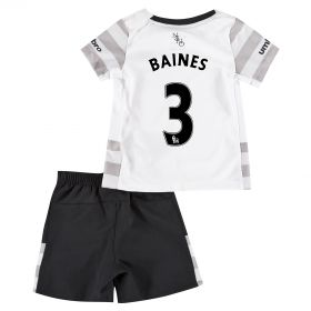Everton Away Baby Kit 2015/16 with Baines 3 printing