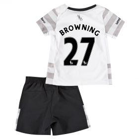 Everton Away Baby Kit 2015/16 with Browning 36 printing