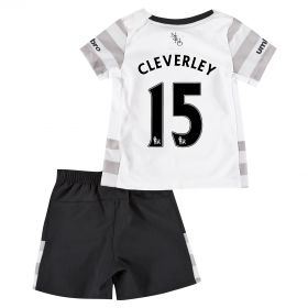 Everton Away Baby Kit 2015/16 with Cleverley 15 printing