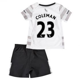 Everton Away Baby Kit 2015/16 with Coleman 23 printing