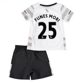 Everton Away Baby Kit 2015/16 with Funes Mori 25 printing