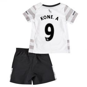 Everton Away Baby Kit 2015/16 with Kone.A 9 printing