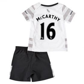Everton Away Baby Kit 2015/16 with McCarthy 16 printing