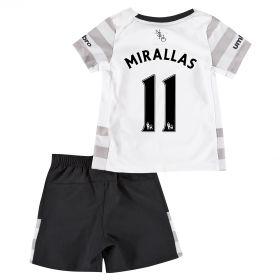 Everton Away Baby Kit 2015/16 with Mirallas 11 printing