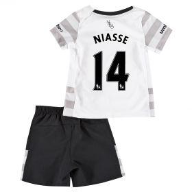 Everton Away Baby Kit 2015/16 with Niasse 14 printing