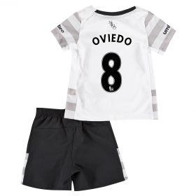 Everton Away Baby Kit 2015/16 with Oviedo 8 printing