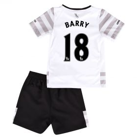 Everton Away Infant Kit 2015/16 with Barry 18 printing