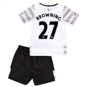 Everton Away Infant Kit 2015/16 with Browning 36 printing