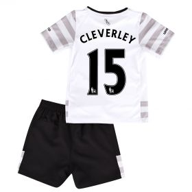Everton Away Infant Kit 2015/16 with Cleverley 15 printing