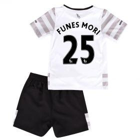 Everton Away Infant Kit 2015/16 with Funes Mori 25 printing