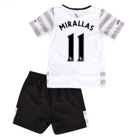 Everton Away Infant Kit 2015/16 with Mirallas 11 printing