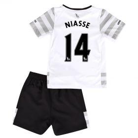 Everton Away Infant Kit 2015/16 with Niasse 14 printing