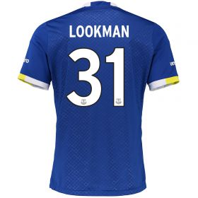 Everton Home Cup Shirt 2016/17 - Junior with Lookman 31 printing