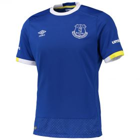 Everton Home Shirt 2016/17 - Junior with Dowell 28 printing