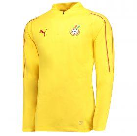 Ghana Training 1/4 Top - Yellow