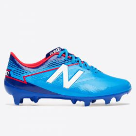 New Balance Furon 3.0 Dispatch Firm Ground Football Boots - Bolt/Team Royal - Kids