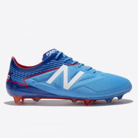 New Balance Furon 3.0 Pro Firm Ground Football Boots - Bolt/Team Royal