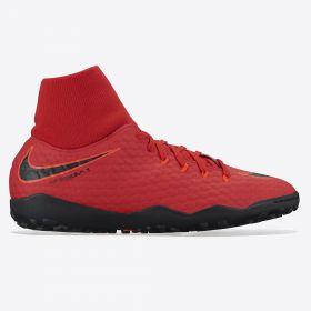 Nike Hypervenom Phelon IIII Dynamic Fit Astroturf Trainers - Red