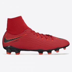 Nike Hypervenom Phelon IIII Dynamic Fit Firm Ground Football Boots - Red