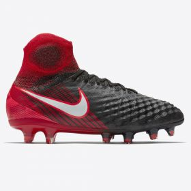 Nike Magista Obra III Firm Ground Football Boots - Red - Kids
