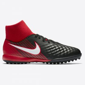 Nike Magista Onda III Dynamic Fit Astroturf Trainers - Red - Kids