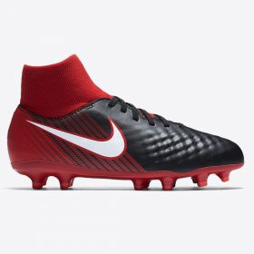 Nike Magista Onda III Dynamic Fit Firm Ground Football Boots - Red - Kids