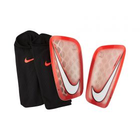 Nike Mercurial Flylite Shinguards - Red