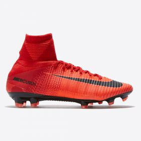 Nike Mercurial Superfly V Firm Ground Football Boots - Red