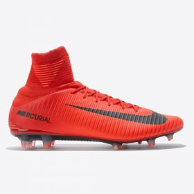 Nike Mercurial Veloce IIII Dynamic Fit Firm Ground Football Boots - Red
