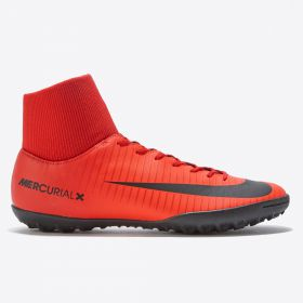 Nike Mercurial Victory VI Dynamic Fit Astroturf Trainers - Red