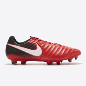 Nike Tiempo Legacy IIII Firm Ground Football Boots - Red