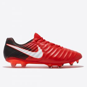 Nike Tiempo Legend VIII Firm Ground Football Boots - Red