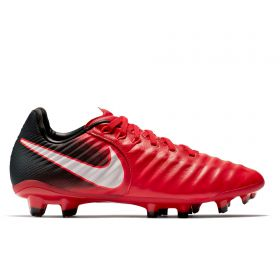 Nike Tiempo Legend VIII Firm Ground Football Boots - Red - Kids