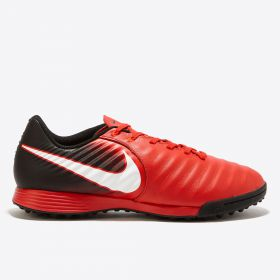 Nike Tiempo Ligera IV Astroturf Trainers - Red