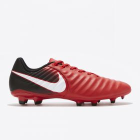 Nike Tiempo Ligera IV Firm Ground Football Boots - Red