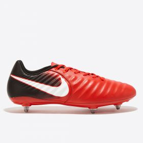Nike Tiempo Ligera IV Soft Ground Football Boots - Red