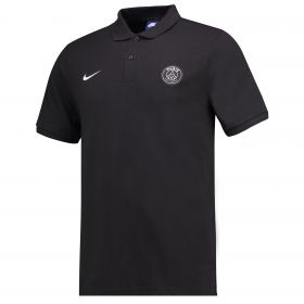Paris Saint-Germain Core Polo - Black