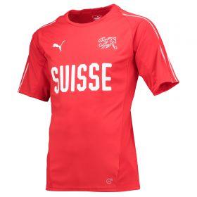 Switzerland Training Jersey - Red