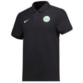 VfL Wolfsburg Core Polo - Black