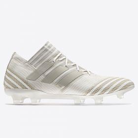 adidas Nemeziz 17.1 Firm Ground Football Boots - Clear Brown/Sesame/Chalk White