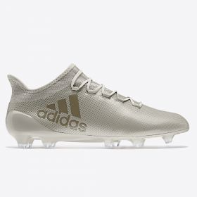 adidas X 17.1 Firm Ground Football Boots - Sesame/Clay/Clay