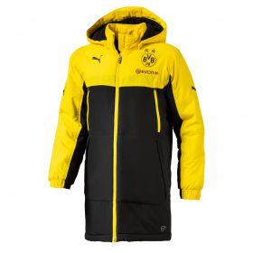 BVB Training Bench Jacket - Yellow