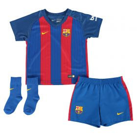 Barcelona Home Kit 2016-17 - Infants