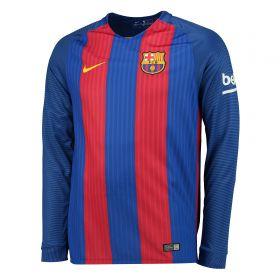 Barcelona Home Shirt 2016-17 - Long Sleeve