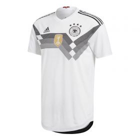 Germany Authentic Home Shirt 2018 with Ozil 10 printing