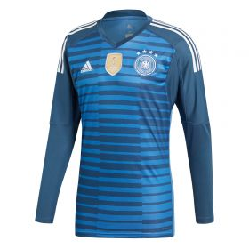 Germany Home Goalkeeper Shirt 2018 with Neuer 1 printing