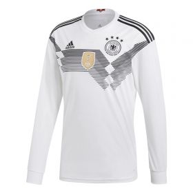 Germany Home Shirt 2018 - Long Sleeve with Ozil 10 printing