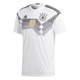Germany Home Shirt 2018 - Womens with Ozil 10 printing